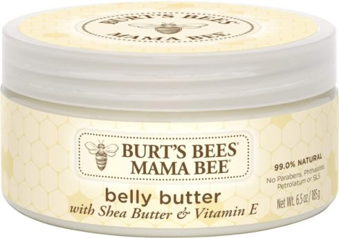 Burt's Bees Mama Bee Belly Butter, Fragrance Free Lotion