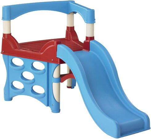 American Plastic Toys My First Climber and Slide, Blue