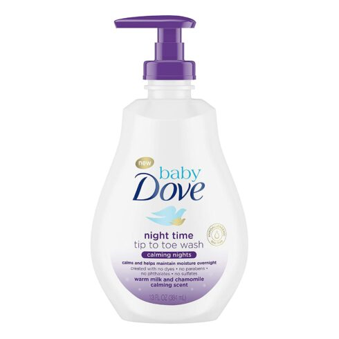 Baby Dove Tip to Toe Wash and Shampoo Calming Nights Washes Away Bacteria While Nourishing Your Skin