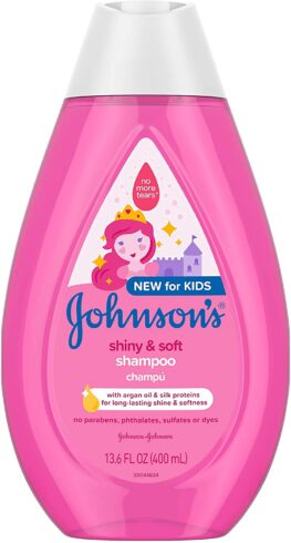 Johnson's Shiny & Soft Tear-Free Kids