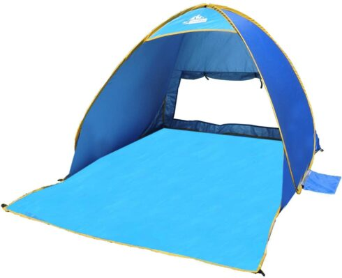 Outdoorsman Lab Pop Up Tent UV 50 Protection Sun Shade