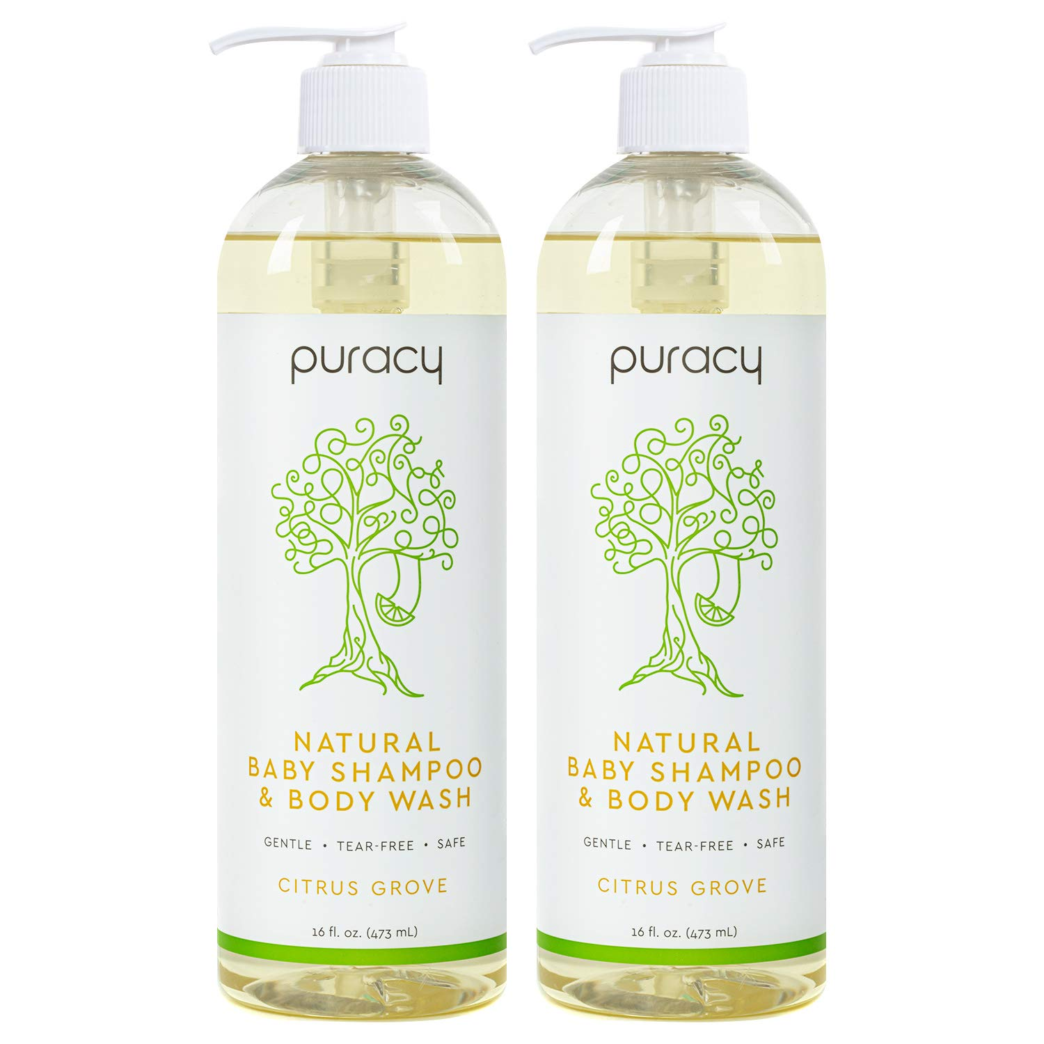 Puracy Baby Shampoo & Natural Body Wash