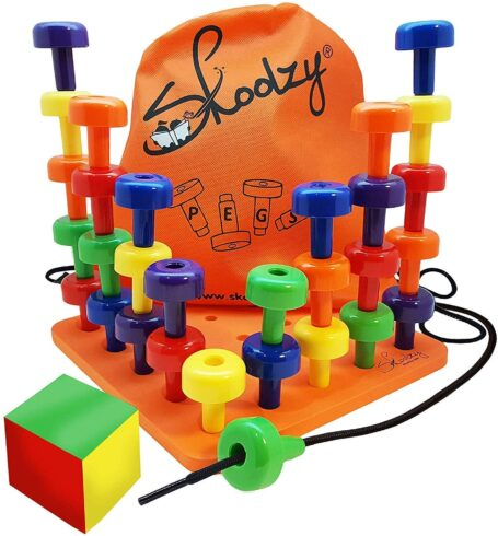 Skoolzy Peg Board Set