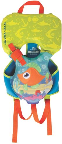 Stearns Infant Puddle Jumper Hydroprene Fish Print Life Jacket