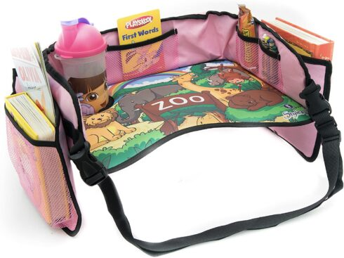 Styles II Toddler Car Seat Travel Activity Lap Tray - Solid Reinforced Surface