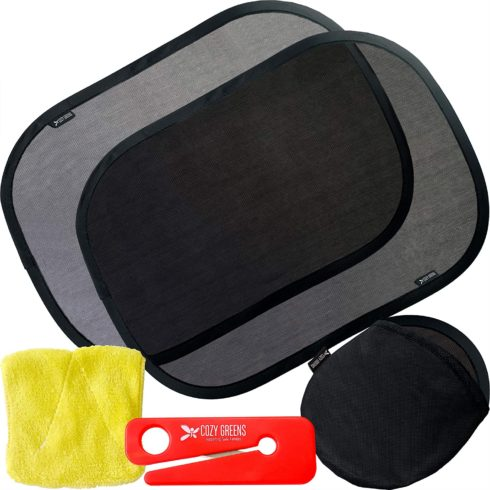 COZY GREENS Car Window Shade for Baby for Side Windows for Vehicle