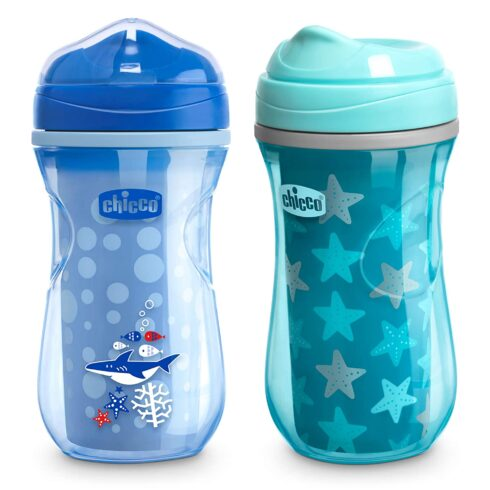 Chicco Insulated Rim Spout Trainer Spill Free Baby Sippy Cup