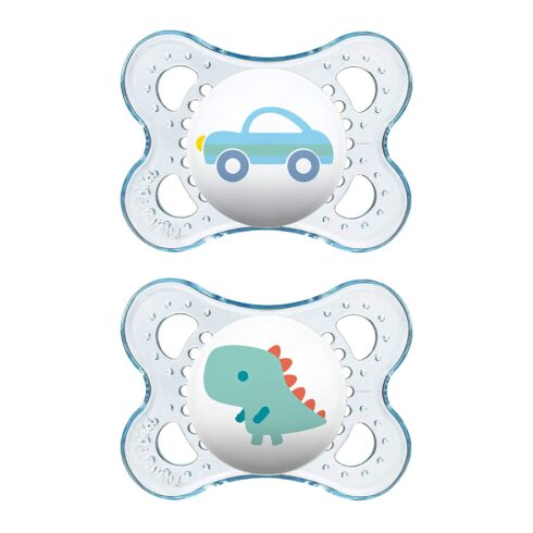 MAM Clear Collection Pacifiers