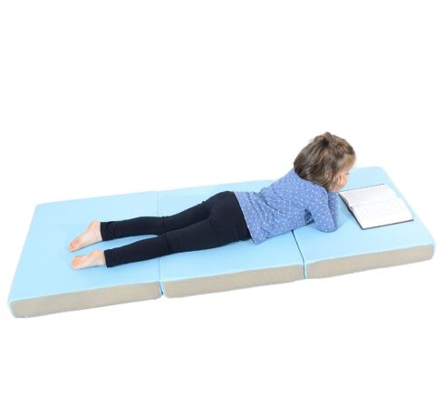 Milliard Toddler Nap Mat Tri Folding Mattress with Washable Cover