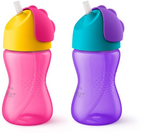 Philips Avent My Bendy Straw Cup, 10 Oz, 2pk