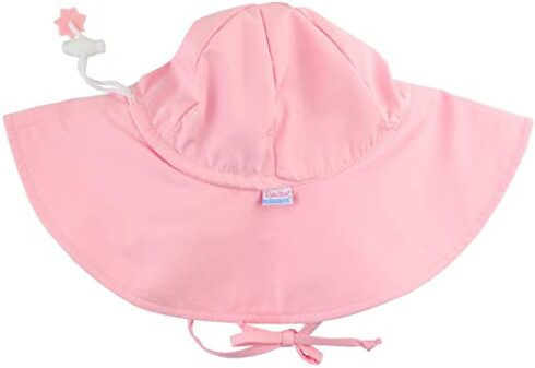 RuffleButts Baby Toddler Girls Baby Sun Hat UPF 50+ Sun Protection Floppy Wide Brim