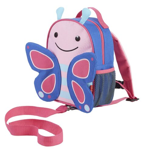 Skip Hop Toddler Leash and Harness Backpack, Butterfly