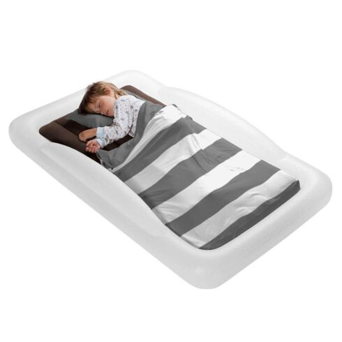 The Shrunks Toddler Travel Bed Portable Inflatable Air Mattress Blow Up Bed