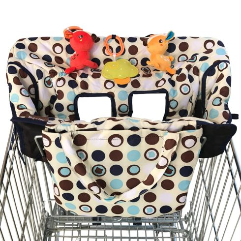 Croc n Frog Shopping Cart Cover