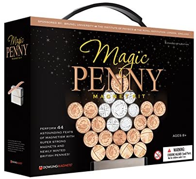 Dowling Magnets Magnetic Penny Game, Building Kids Toys