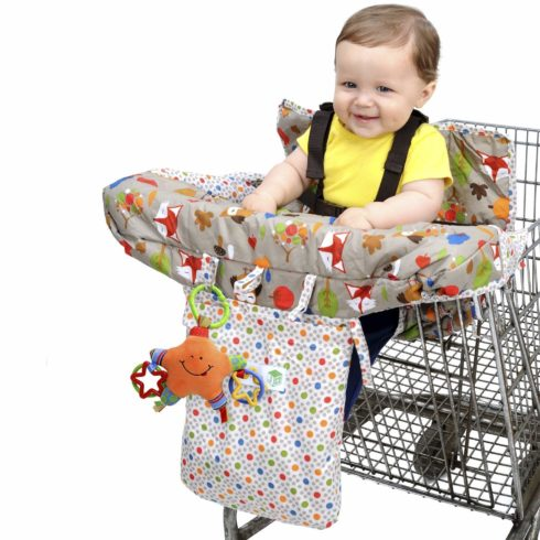 Jeep 2-in-1 Shopping Cart Cover High Chair Cover