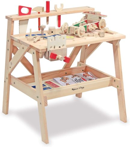 Melissa & Doug Wooden Project Workbench (SIOC)