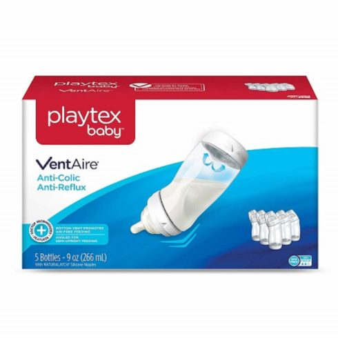 Playtex 05226 Baby Ventaire Anti Colic Baby Bottle, BPA Free, 9 Ounce