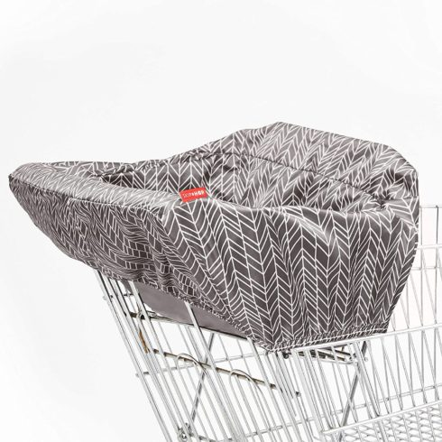Skip Hop Baby Shopping Cart High Chair Cover Machine Washable Cart Liner with Padded Seat